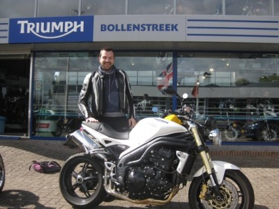 Triumph motoren Bollenstreek